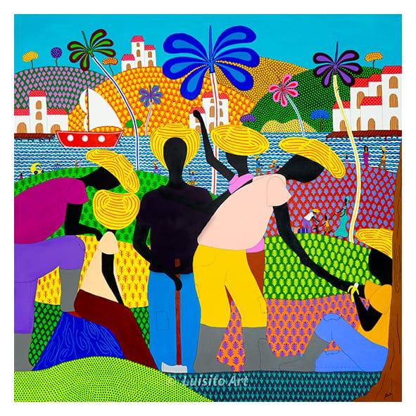 Luisito Art Oeuvre Reencuentro